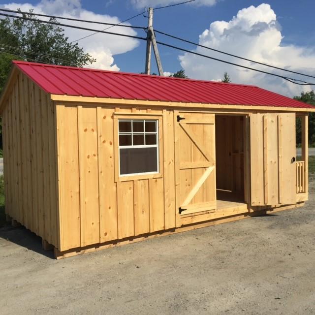 Cottage Style Shelters : Cottage style shed sheds quebec west