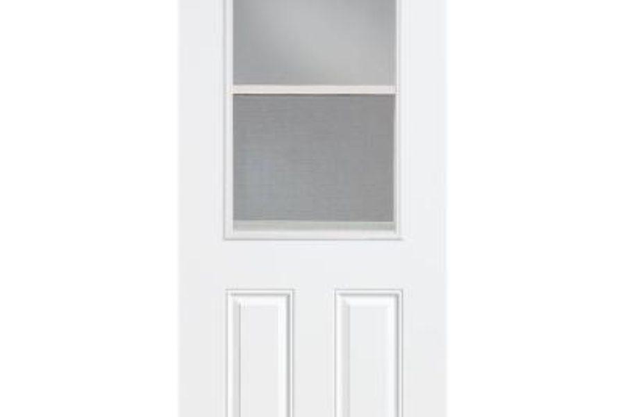 Steel Door With Window