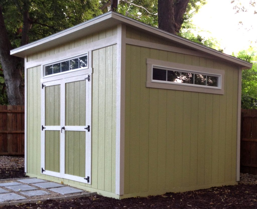 how to make a lean to shed roof