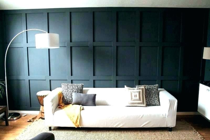 Board And Batten Boxed Accent Wall Blue Sheds Quebec